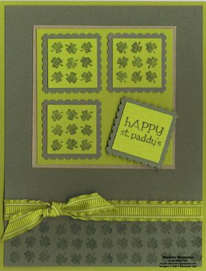 stampin up: Card Creations, Card Ideas, Cards Crafts, Photo, St Patricks, Cards St