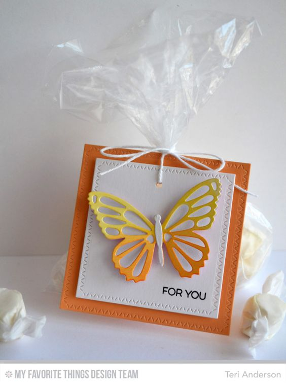 Butterfly Tag by Teri: