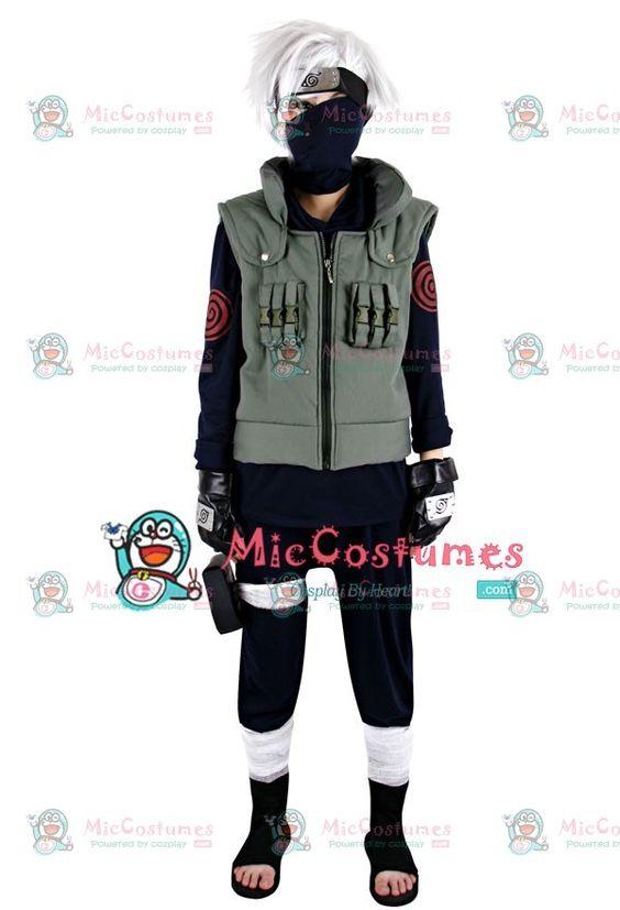 Konoha's standard infantry clothing for the mystery shinobi Kakashi Hatake…