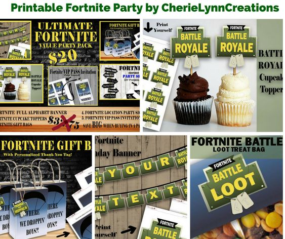 Fortnite Paper Plates Birthday Wikii