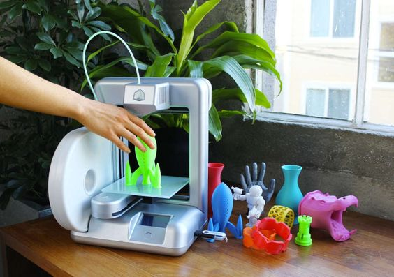 Cube 3D Printer -- first personal 3D printer