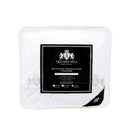 Triumph Hill Feather Comforter, White