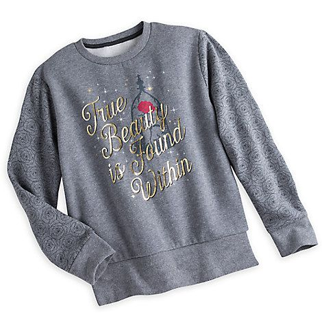 Beauty and the Beast Fleece Top for Women - Live Action: