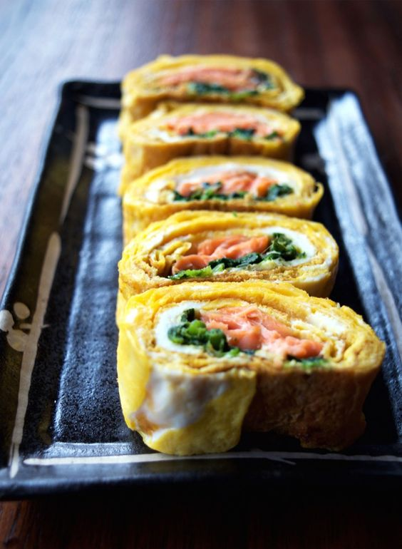 Tamagoyaki Recipe- Healthy Japanese Rolled Omelettes - eyes and hour