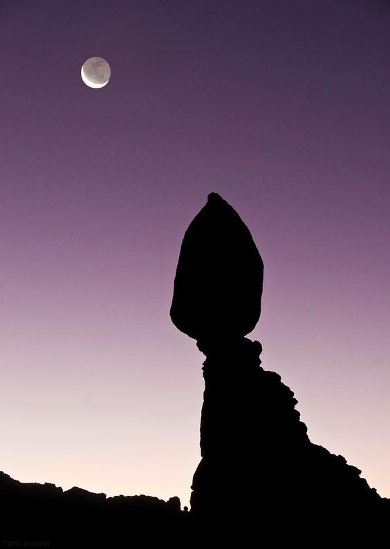 Howl by Zach Hessler Balanced Rock Arches National Park, UT