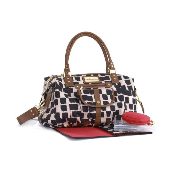 Fancy Diaper Bag...Yes please! CoCaLo Couture Chloe Inked Square Hobo Diaper Bag
