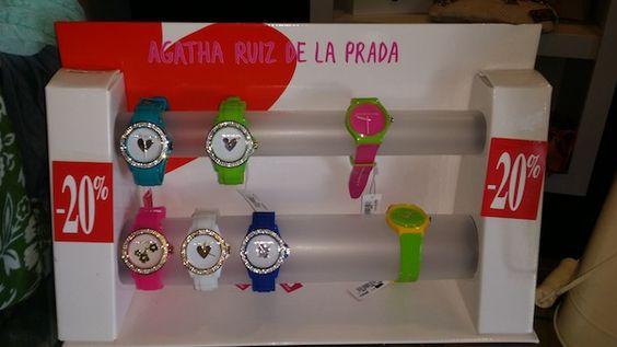 Relojes de Agatha Ruiz de la Prada con un 20% de descuento