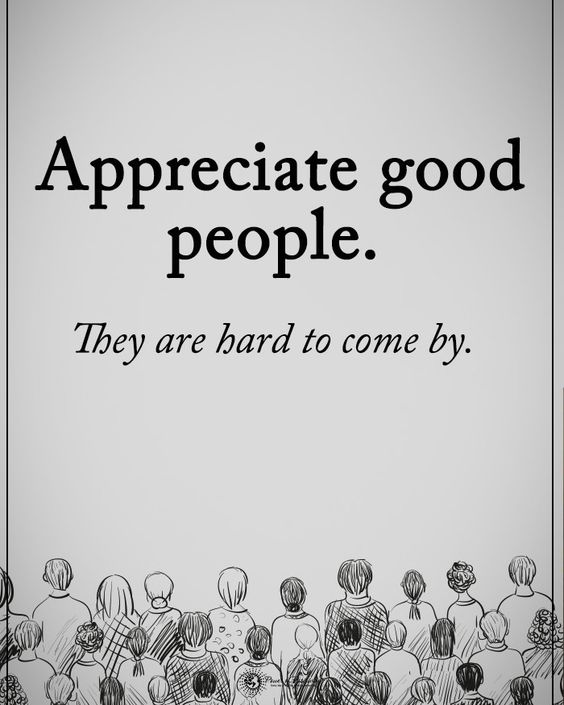 """6,070 Likes, 114 Comments - Positive + Motivational Quotes (@powerofpositivity) on Instagram: """"Type YES if you agree. Appreciate good people. They are hard to come by. #powerofpositivity…"""""""