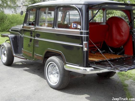 Willys Wagon Jeeptruck Com Jeeps For Sale 1961
