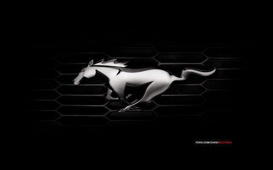 Shelby Mustang Logo Wallpaper Ford