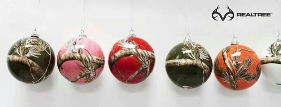 Realtree Christmas balls