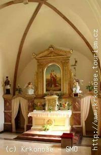 Kostel sv. Kateřiny Alexandrijské - Trutnov-Mladé Buky