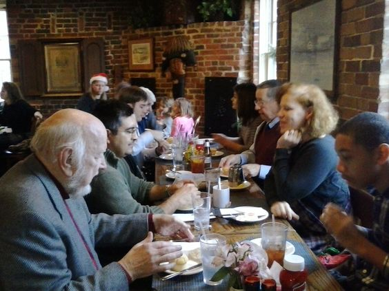 Christmas Luncheon with Clan MacPherson