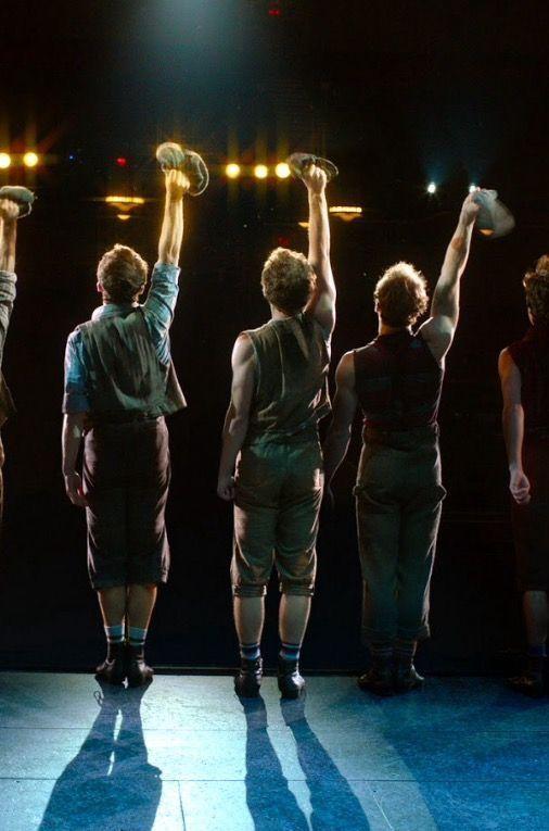 Newsies Curtain Call Newsies Musical Theatre Broadway Musical