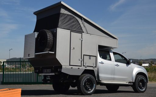 Small Family Off Road Cabines Globe Camper Expeditionsfahrzeug