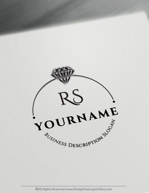 diamond logo design create your own free wedding ring logo ring logo jewelry logo design logo jewelry wedding ring logo