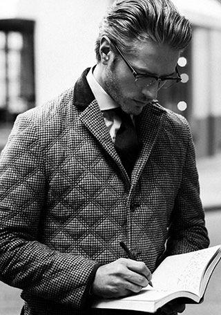 キルティングジャケットの着こなし・コーディネート一覧【メンズ】 | Italy Web