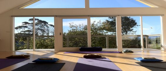 Yoga, meditation room