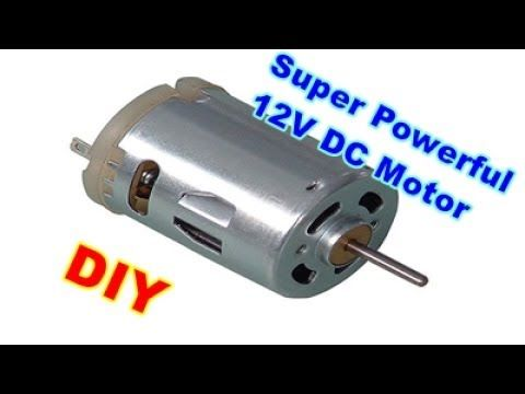Run A High Torque Mixer Drill Motor At 12v Without Any Circuit Step By Step Youtube Motor Bike Repair Electronics Projects Diy