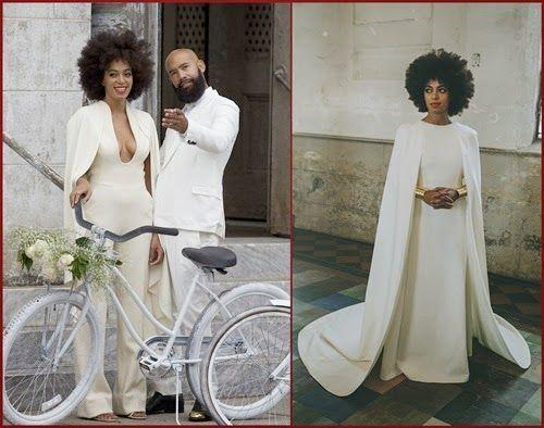 #Solange Marries #AlanFerguson And Suffers Nip Sli...