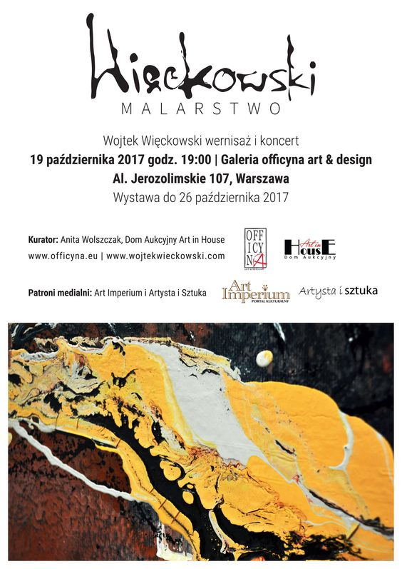 Więckowski Malarstwo gaeria officyna art design