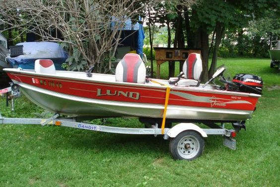 lund 12' 9.9hp 4 stroke trailer lund 12' 9.9hp 4 stroke $3250 (saco)   t4f8c-3198365083@sale.craigslist.org    lund 12' deep vee, mercury 9.9hp 4 stroke, bandit galvanized trailer, this boat motor trailer is like new, less than 10 hours on the motor, starts first pull and runs good just serviced at dealership, boat has no dents or scratces, very clean, trailer is galvanized and never used in salt, has 3 cabelas swivel seats and 3 rod holders,brand new electric trolling motor, gas can and…