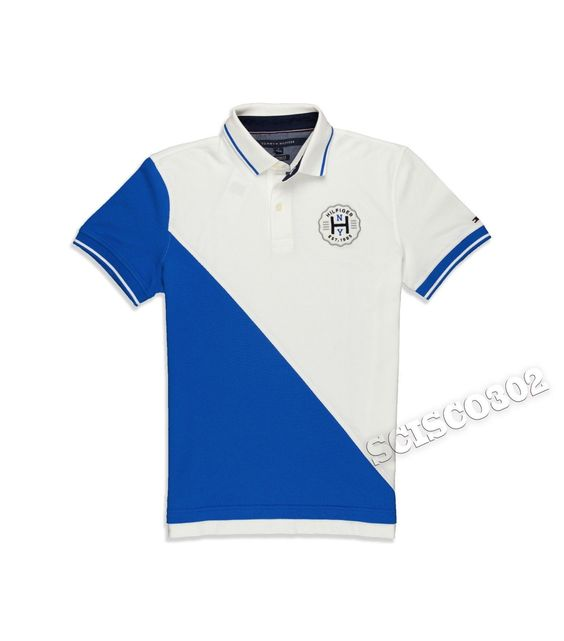 1c15c5cb4 Tommy Hilfiger Men's Custom Fit Pieced Polo Shirt extremegn.co.uk