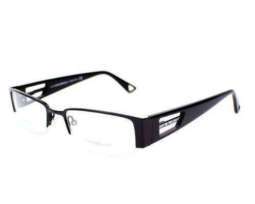 Emporio Armani Eyeglasses frameEA 9378 Black 65Z Metal - Acetate Black Emporio Armani. $80.08