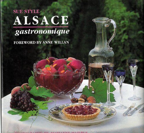 Alsace Gastronomique (French Regional Series , Vol 6) (French Edition) by Sue Style http://www.amazon.com/dp/0789202352/ref=cm_sw_r_pi_dp_bSGXub06E9M20