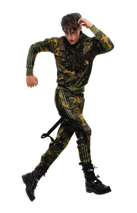 O militarismo está na moda a Adidas já aderiu!
