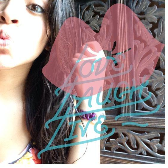 #kiss #beyourself #lovelaughlive #madewithstudio