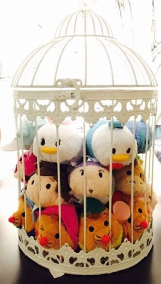 Ideas of how to display your Tsum Tsum collection.