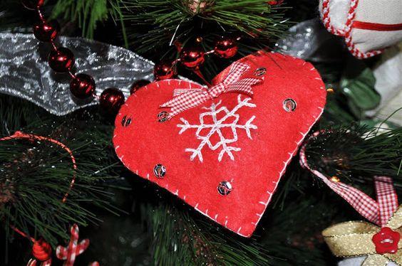 El cajón del scrap: Ideas para hacer tus propios adornos navideños - DIY Christmas ornaments