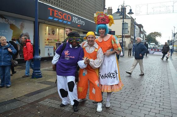 Some of our pantomime characters @thewoodville Gravesend