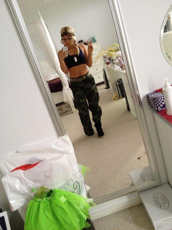 Army girl   Halloween Costume