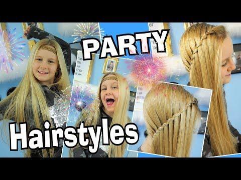 Silvester Frisuren Party Hairstyles Mavie Noelle Youtube Frisur Party Silvester Frisuren Frisuren