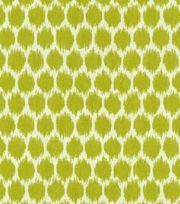 Home Decor Print Fabric-Waverly Seeing Spots Wasabi,