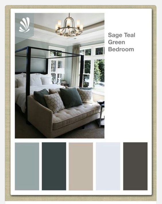 Relaxing Colors For Bedroom color scheme for master bedroom. gray on walls. teal curtains with
