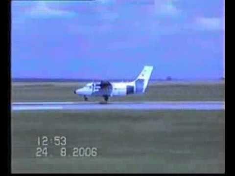 Video: Diese Landung ist keine Meisterleistung