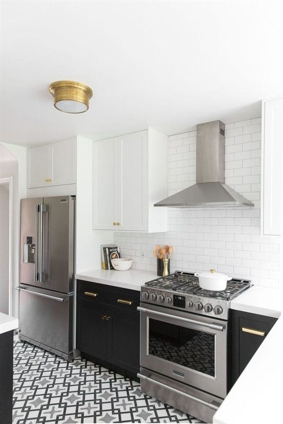 Hillside Kitchen Remodel Reveal Studio Mcgee Kitchenremodeling White Kitchen Design Kitchen Design Small Small Kitchen
