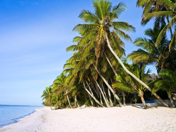 The fabulous Cook Islands ... white sands, turquoise lagoons, magical sunsets .... romance everywhere you look!