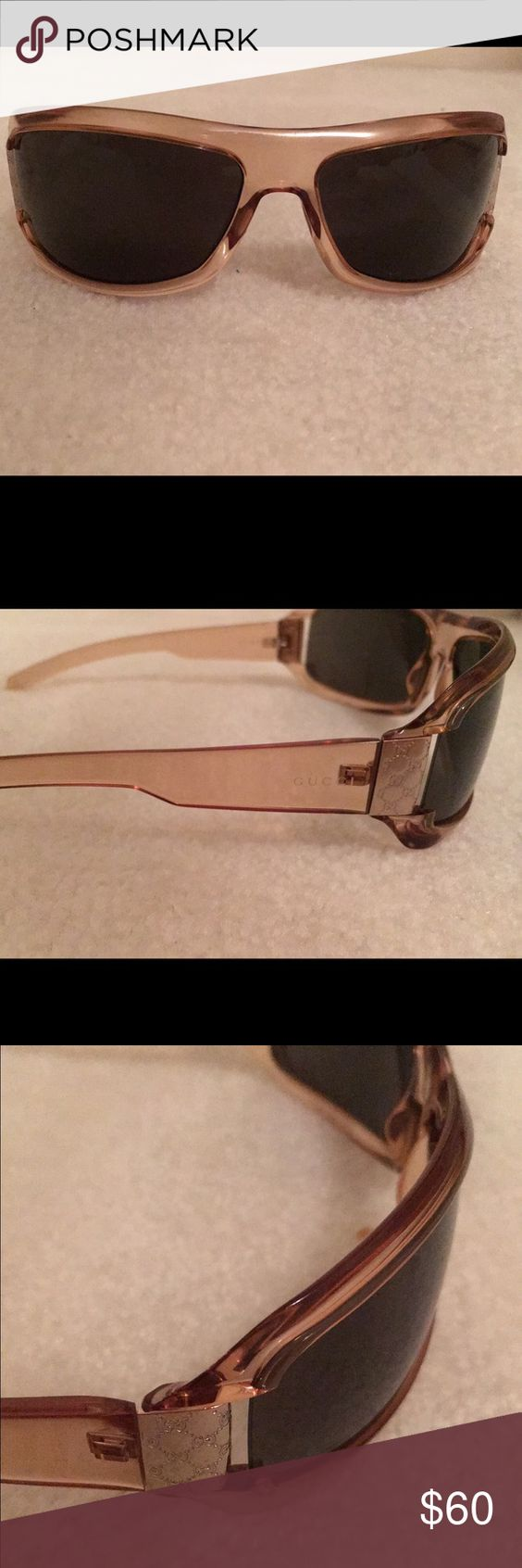 Nwot GUCCI GG Sunglasses Extremely Rare Never worn, no case, gorgeous, rare Gucci Accessories Sunglasses