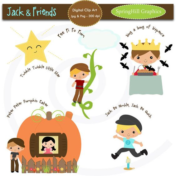 free clipart images nursery rhymes - photo #17