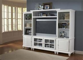 white entertainment centers furniture and bays on pinterest. Black Bedroom Furniture Sets. Home Design Ideas