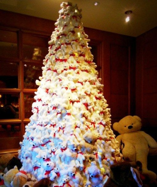 Ten Plushie Christmas Trees Made From Cuddly Toys Christmas Tree Cuddly Toy Christmas