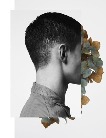 lionskeleton - photography - design - graphic - collage - face - flower - man