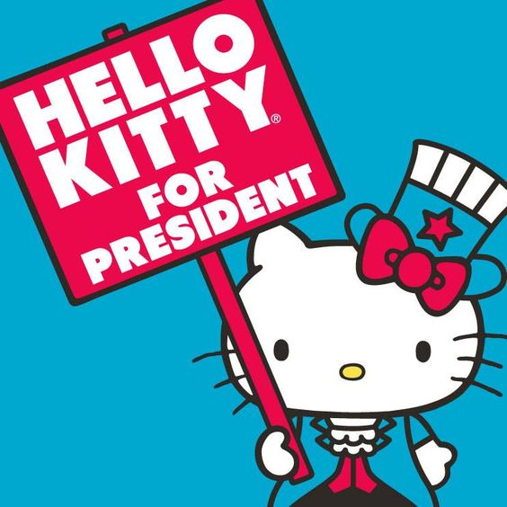 Hello Kitty for President!: