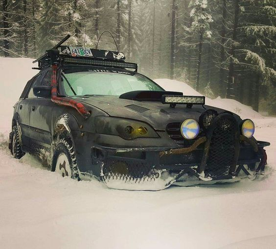 Subaru Impreza snow rig