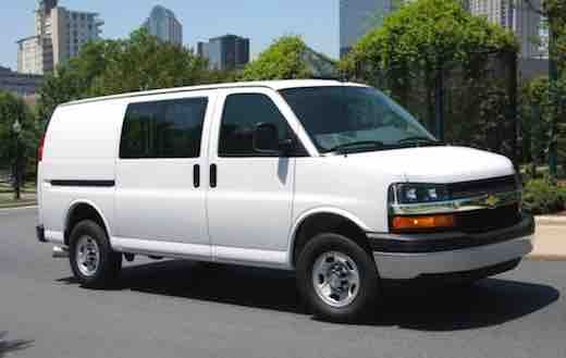 2020 Chevrolet Express Savanas