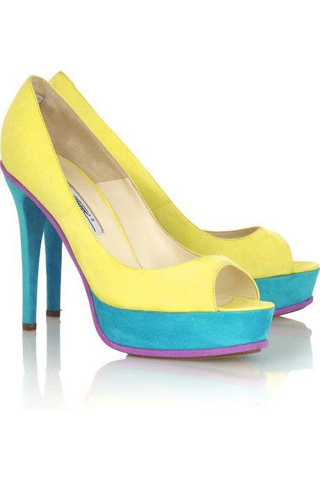 Brian Atwood Lana Platform Shoes